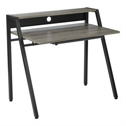 Office Star OSP Designs Writing Desk in Dark Driftwood