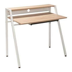 Office Star OSP Designs Writing Desk in Light Driftwood