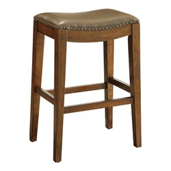Office Star OSP Designs Bar Stool in Molasses