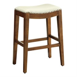 Office Star OSP Designs Bar Stool in Cream