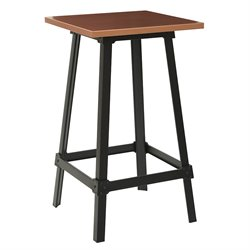 Office Star Work Smart and OSP Designs Pub Table in Copper and Black