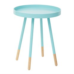 Office Star OSP Designs Accent Table in Mint