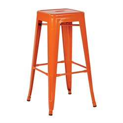 Office Star Work Smart and OSP Designs Backless Bar Stool (Set of 2)