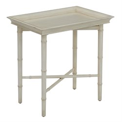 Office Star OSP Designs Serving Accent Table in Cream