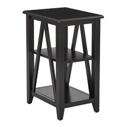Office Star OSP Designs End Table in Black