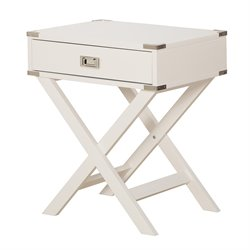 Office Star OSP Designs End Table in White