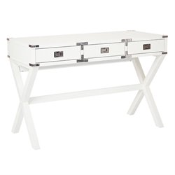Office Star OSP Designs Home Office Desk Wellington Desk in White