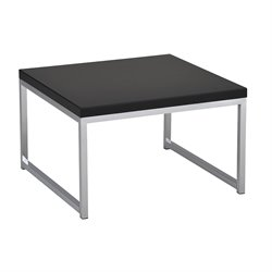 Office Star Work Smart and Ave Six Accent End Table in Black