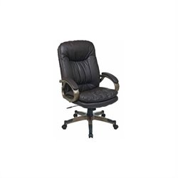 Executive Eco Leather Office Chair in Espresso