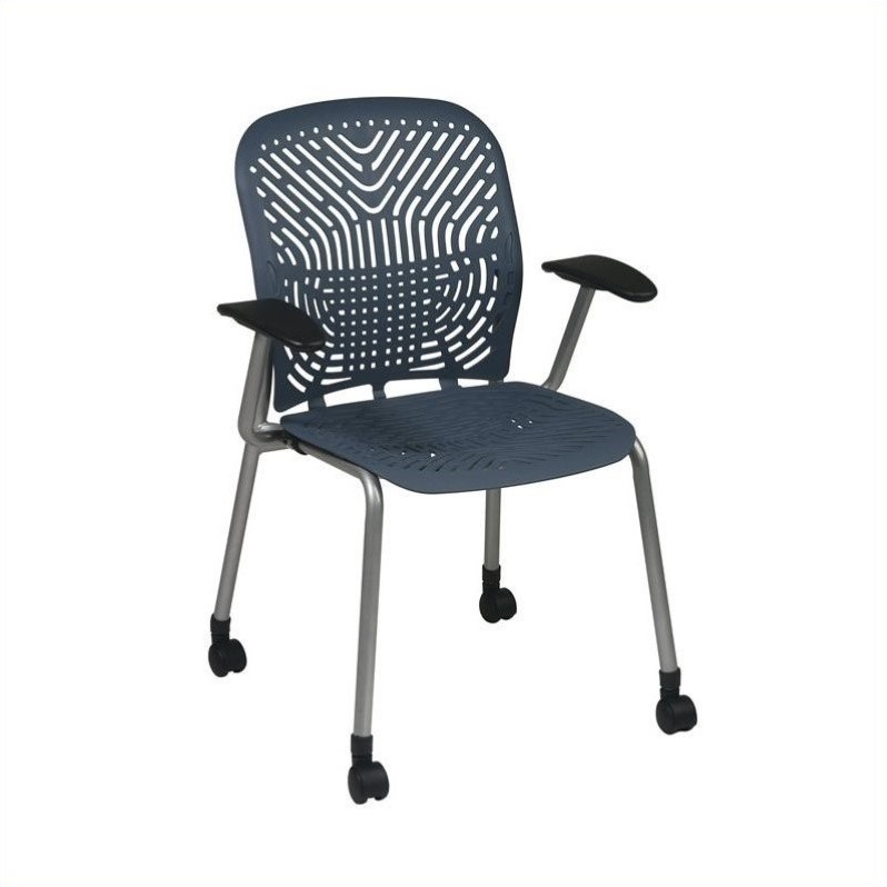 Blue Visitors Guest Chair (Set of 2)