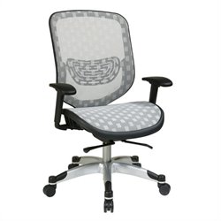 White DuraGrid Office Chair