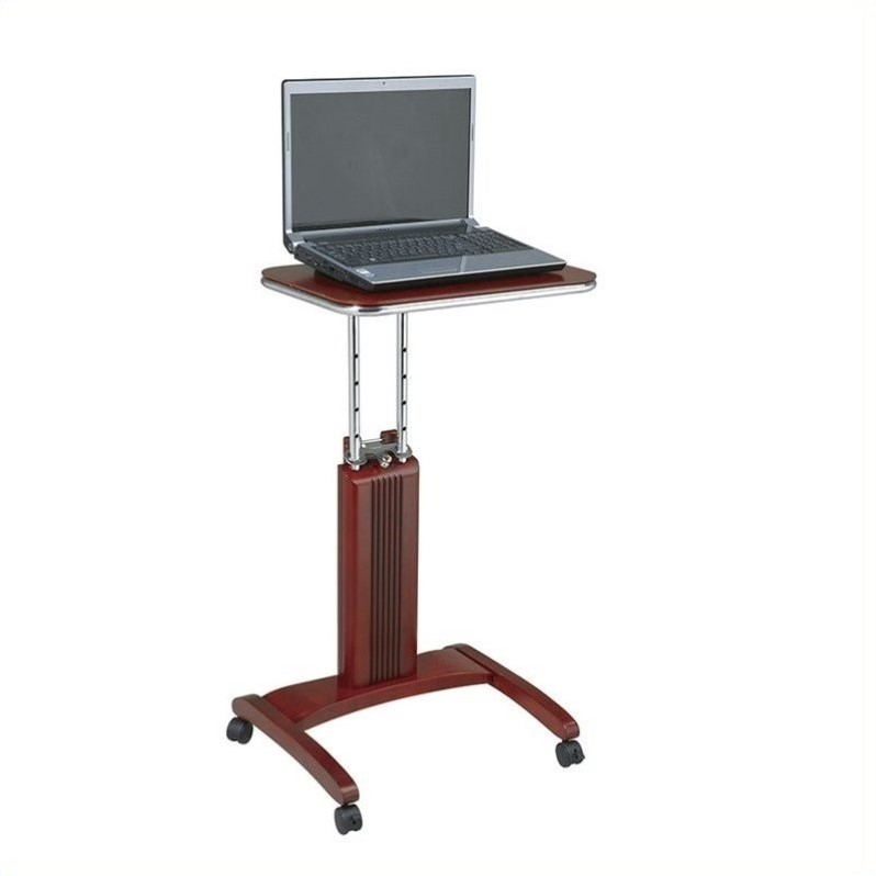 Adjustable Laptop Stand in Light Cherry