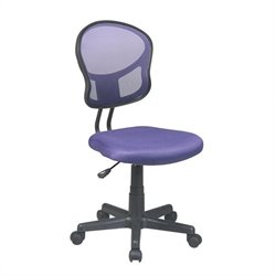 Mesh Task Office Chair in Purple