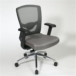 High Back Office Chair in Grey