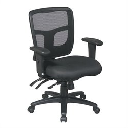 Back Mid Back Managers Office Chair with Adjustable Arms