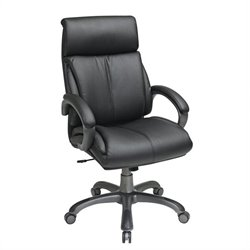 Executive Black Eco Leather Office Chair