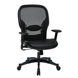 Breathable Mesh Back Office Chair in Black