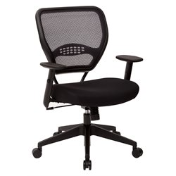 AirGrid Back Managers Office Chair with Black Mesh Fabric