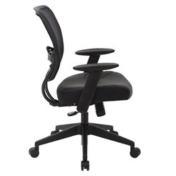 Managers Office Chair Black Eco Leather Seat