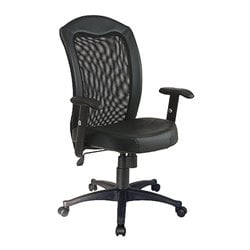 Black Screen Back Desk Office Chair