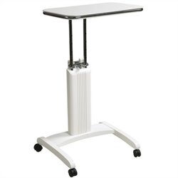 Adjustable Laptop Stand in White