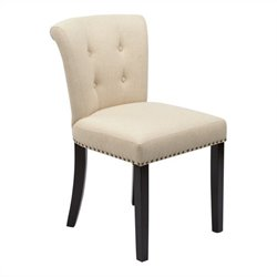 Dining Chair in Linen