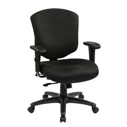 Mid Back Executive Office Chair with Ratchet Back