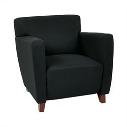 Club Chair in Black