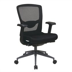 Executive ProGrid Back Office Chair in Black