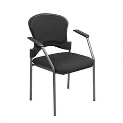 Guest Chair with Arms in Coal