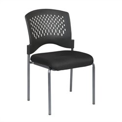 Armless Guest Chair in Coal