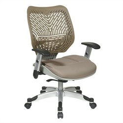 Back and Office Chair in Latte