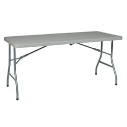 Multi Purpose Center Fold Table in White