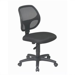 Mesh Screen Back Task Office Chair in Black