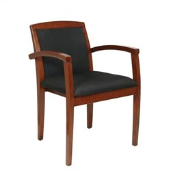 Set of 4 Leg Guest Chair in Light Cherry