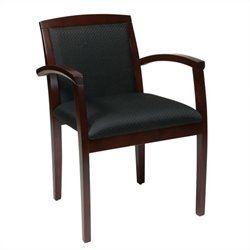 Set of 4 Leg Guest Chair in Mahogany