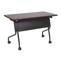 Training Table in Black and Mahogany