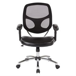 Screen Back Task Chair in Chrome Nylon