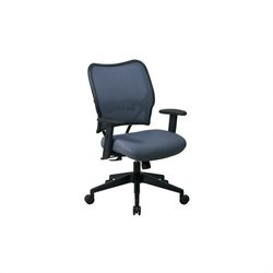 Deluxe VeraFlex Office Chair in Blue Mist