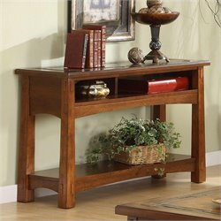Riverside Craftsman Home Console Table