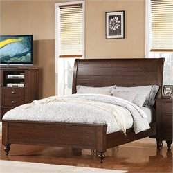 Riverside Furniture Castlewood Bed in Warm Tobacco
