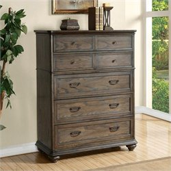 Riverside Furniture Belmeade Five Drawer Chest in Old World Oak