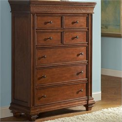 Riverside Furniture Windward Bay Chest in Warm Rum