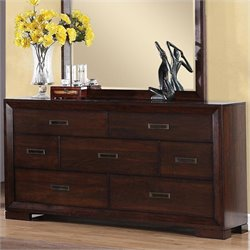 Riverside Furniture Riata Dresser in Warm Walnut