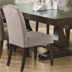 2 Piece Dining Chair in Beige