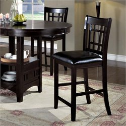 Counter Stool in Cappuccino (Set of 2)