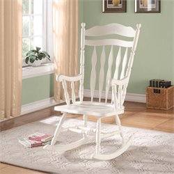 Rocking Chair in Antique White