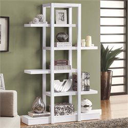 5 Shelf Etagere in White