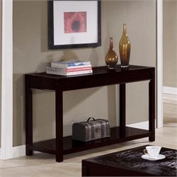 Console Table in Cappuccino