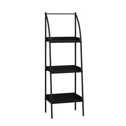Monarch 3 Shelf Metal Bookcase